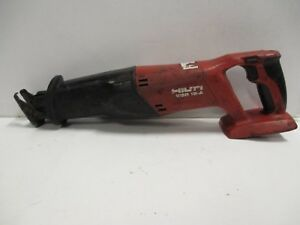 Hilti Wsr 18 A Reciprocating Saw cordless Tool Only