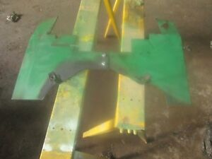 Oliver Tractor 2050 2150 Shield That Gos In Back Of The Engine Very Very Nice