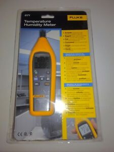 Fluke 971 Temperature Humidity Meter Tester Brand New In Box Free Shipping