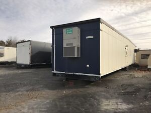 12 x60 Mobile Office Bathroom Trailer Modular Mens Woman s Boys And Girls
