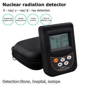 Geiger Counter Nuclear Radiation Detector X ray Monitor Dosimeter Tester