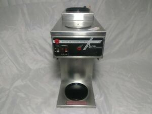 Curtis Alpha 2p Commercial Drip Coffee Maker Scalpha 2p 12