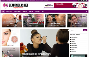 Beauty News guide affiliate Product Website 100 Automated Ready For Business