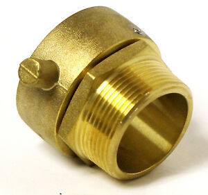1 1 2 Nst nh Female Swivel X 1 1 2 Male Npt Fire Hose Hydrant Adapter Snoot