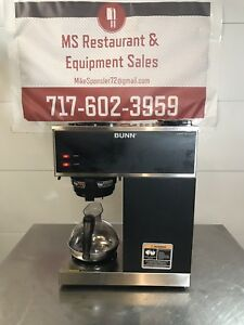 Bunn Commercial Coffee Brewer Vpr Blk W 2 Series W Pot Fast Free Shipping