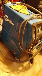 Miller Millermatic 350p Aluminum Mig Welder Xr aluma pro Gun 951452 included