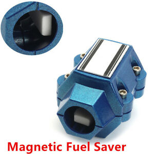 Universal Aluminum Magnetic Gas Oil Fuel Saver Solid Performance Car Economizer