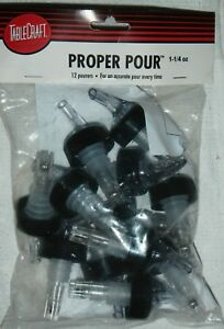 Tablecraft 4248a Proper Pour 1 1 4 Oz Pourers Qty 96