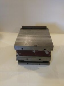 Suburban Tool Magnetic Chuck Sine Plate Model Mc 66 s1 6 x6 Top Plate