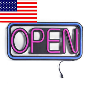Square Hang Waterproof Open Led Spectacular Sign Creativity Outdoor Illumination