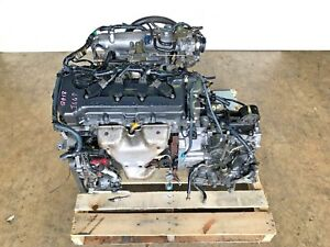 2000 2001 2002 Nissan Sentra Engine And Transmission 1 8l Motor Jdm Qg18de