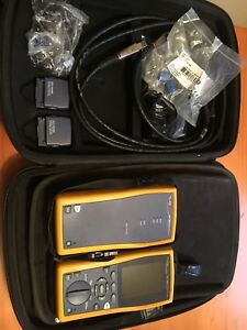 Fluke Dtx 1800 Cable Analyzer Dtx 10g Kit Cat6 Fiber Tester Smart Remote