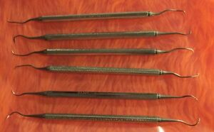 35 Piece Lot Hu friedly Dental Instruments Tools Double Picks Scalers Pero
