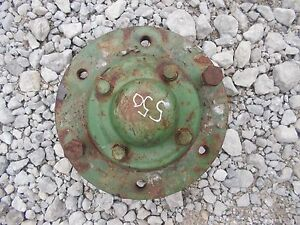 Oliver 550 Tractor Front Wheel Hub Center Cover Cap 2 Stud Bolts