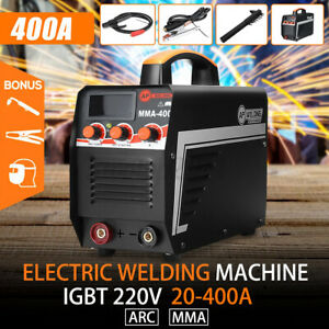220v 400a Mma Arc Digital Electric Welding Machine Dc Igbt Inverter Stick Welder