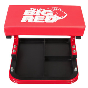 Comfort Creeper Chair Mechanic Padded Work Stool Roller Seat Workshop Tool Tray