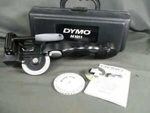 Dymo M1011 Metal Tape Embosser Excellent Condition