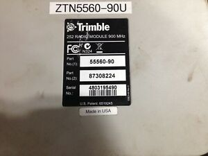 Trimble Aggps 252 Joey 900 Mhz Radio