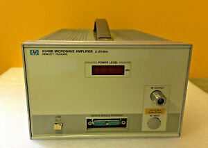 Hp Agilent 8349b 002 2 To 20 Ghz High Performance Broadband Amplifier Tested