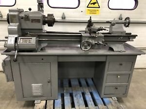 Clausing Variable Speed 12 x36 Metal Lathe Gunsmith 3 4 Jaw Tooling 3ph