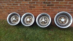 Oem 1973 1991 Chevy Gmc Truck Suburban 15x8 5 5 Rally Wheel Caps