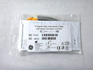 Ge Ts n3 Trusignal Spo2 Interconnect Cable With Datex Connector 3m 10ft