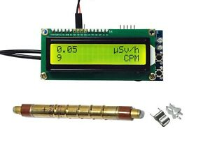 Geiger Counter Kit Diy Dosimeter With Sbm 20 Tube Compatible With Arduino Ide