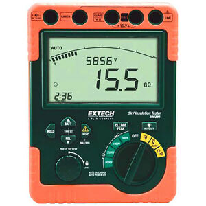 Extech 380395 Digital High Voltage Insulation Tester
