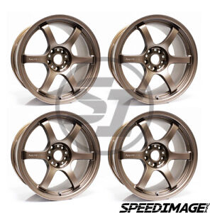 4x Gram Lights 57dr 18x9 5 12 5x114 3 Matte Dark Bronze Set Of 4 Wheels Wheel