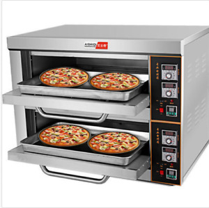 220v 6kw Commercial Electric Baking Oven Professional Pizza Cake Bread Oven U