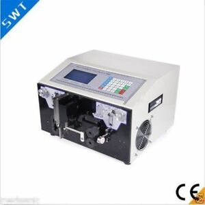 Swt508 je Thick Line Type Computer Wire Cutting Stripping Peeling Machine U