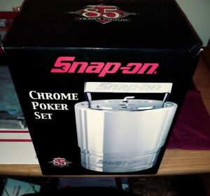 85th Anniversary Snap on Chrome Poker Set From 2005
