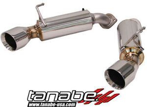 Tanabe Medalion Touring Exhaust System For 14 14 Infiniti Q60 2wd