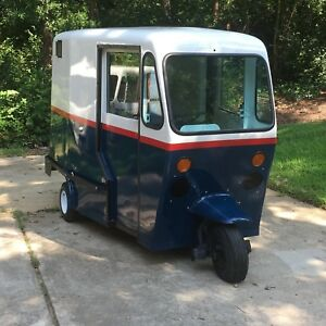 60s Westcoaster Mailster Vintage 3 Wheel Mail Truck