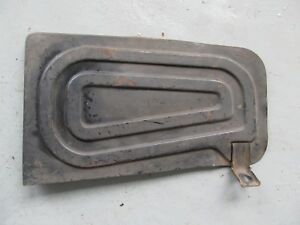 Nos Chevy Ford Jeep Truck Step Plate Running Board 1940 S 50 S