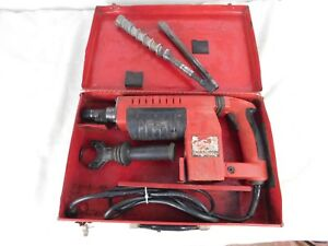 Milwaukee Thunderbolt 5311 Spline Rotary Hammer Drill 1 1 2 With Two 2 Bits