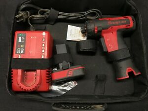 1 4 Snap On Impact Driver With Battery Case And Charger 14 4v