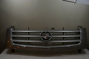 2002 2006 Cadillac Escalade Front Upper Radiator Grille Sivler Oem