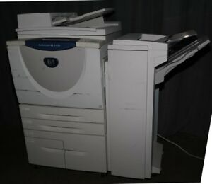 Xerox Workcentre 5150 Under 16k Prints With Finisher Copier Copy Machine B w Fax