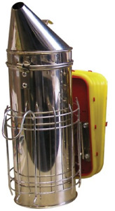 Mann Lake Hd540 Stainless Steel Smoker With Guard 4 By 10 inch