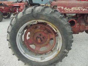 1 13 6 X 38 Tractor Tire 98 Tread Ih 450 400 560 Spin Out Power Adjust Rim