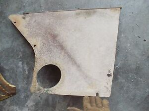 Oliver Super 77 Diesel Rowcrop Tractor Original Ol Rear Side Curtain Panel Cover