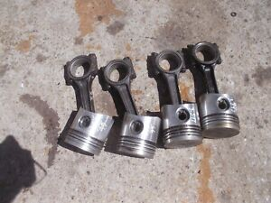 Oliver 66 Tractor White 1974 75 244 Engine Motor 4 Pistons Rings Rods Rod Caps