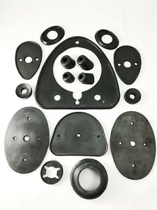 Set Of Rubbers For Car Body For Isetta 300 Mod Usa