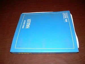 Euclid Volvo Vme 36td 12240 Tractor Truck Hauler Parts Catalog Manual