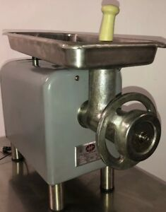 Hobart Meat Grinder Model 4822 W 22 Attachments 1 Phase 115v House Plug