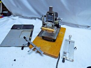 Kingsley Hot Foil Stamping Machine Fast Shipping