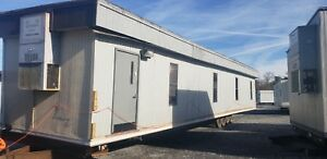 24x60 Double Wide Mobile Office Classroom Modular Trailer Wrapped