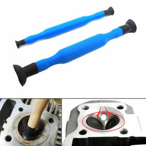 2x Valve Lapping Grinding Sticks Valve Lapper Tool With Suction Cups Kit Set New