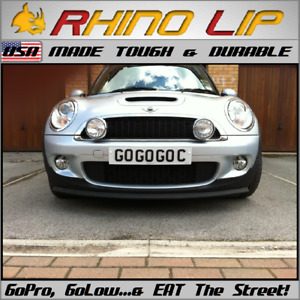 Mini Cooper Countryman R58 Mini Coup R59 Mini Paceman Flexible Rubber Chin Lip